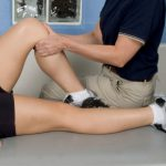 physiotherapy on the knee